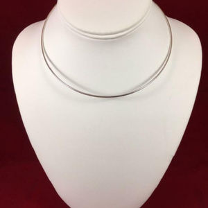 James Avery RETIRED Sterling Hook On Necklace